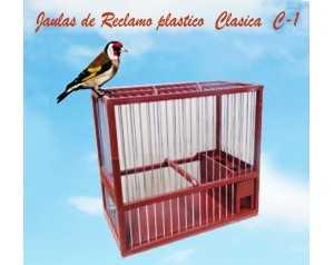JAULA RECLAMO CLASICA PEQUEÑA