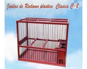 JAULA RECLAMO CLÁSICA GRANDE