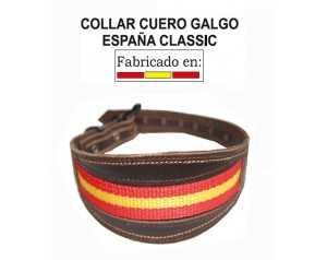 COLLAR CUERO GALGO ESPAÑA